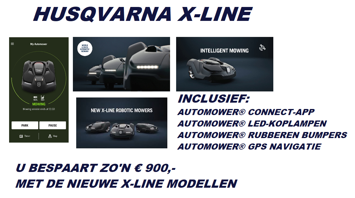 husqvarna x line automowers